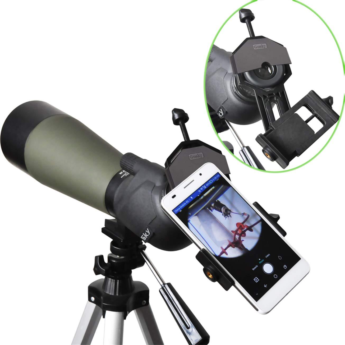 Gosky universal telefone celular adaptador de montagem-compatível