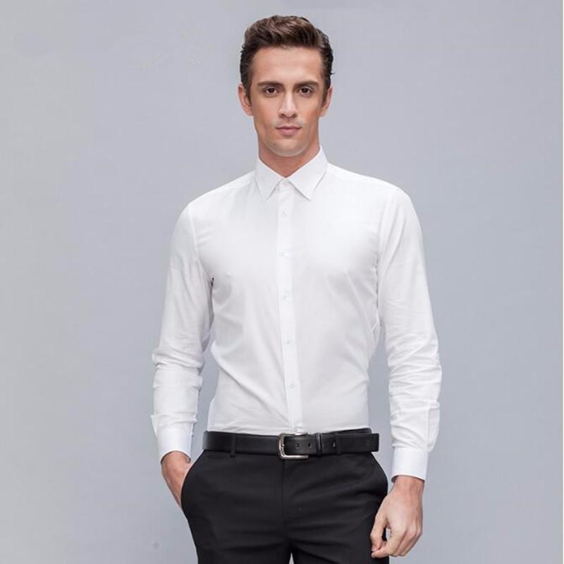 3.1Latest design men suits shirt tailor made groom wedding tuxedos shirt elegant simple formal work suits shirt