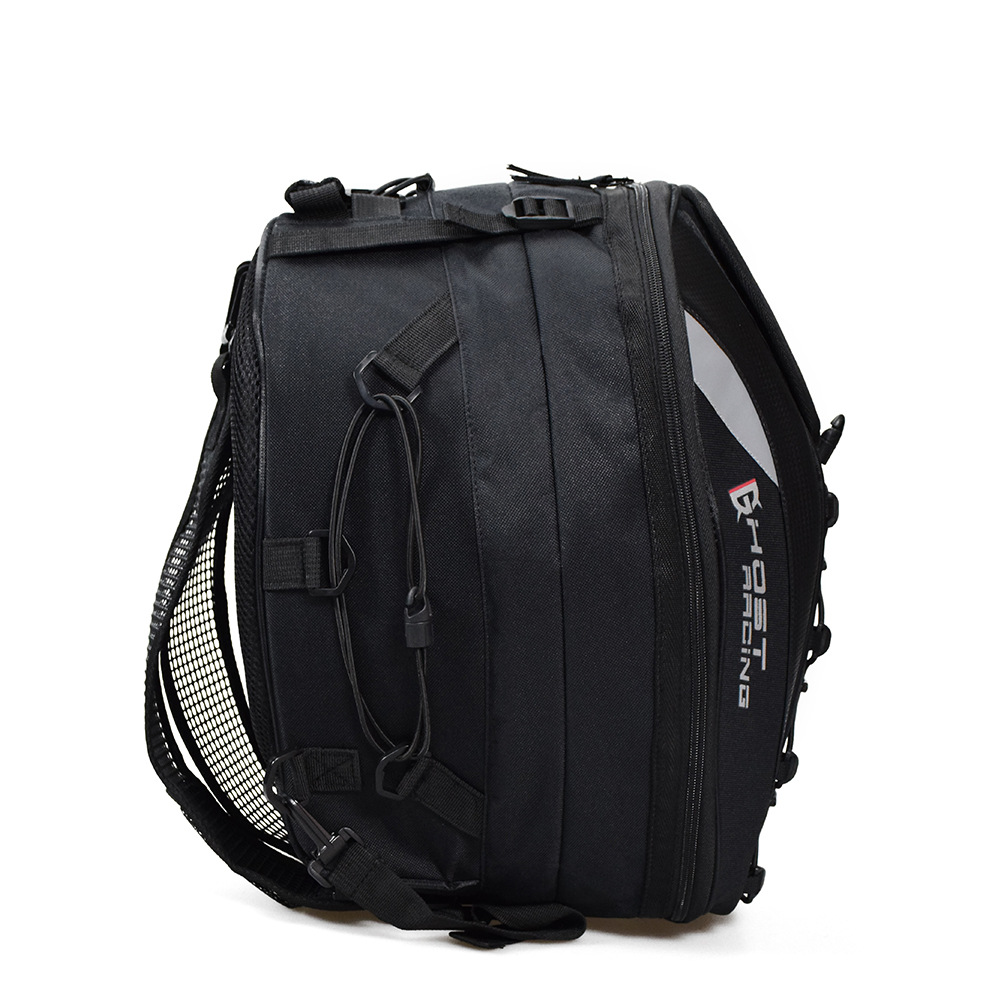Motorcycle Tail Bags Rear Back Seat Bags Travel Luggage Motorcycles Helmet Bags Motorbike Scooter Rider with Shoulder Strap