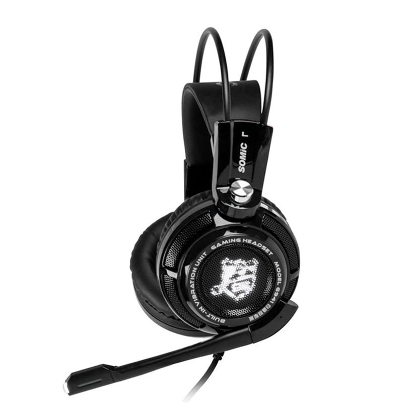 Original Somic G941 USB Game Headphones Headset Bass Stereo Surround Sound Music Gaming Headphone With Microphone For PC Laptop original somic p7 headphones headband vibration game headphone 7 1 sound bass hifi folding gaming headset mobile pc earphone