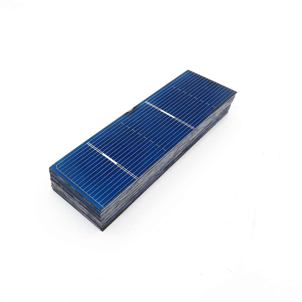 50pcs/lot Solar Panel DIY Polycrystalline Silicon Sunpower Solar panel battery Charger phone 0.5V Charge LED Lamp