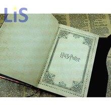 Figura de acción de nuevo planificador libro de magia Harri Potter Cuaderno Diario con 2019 de 2020 calendario 2021 Retro cubierta dura del horario