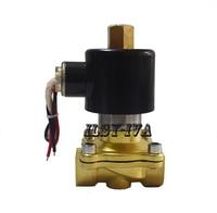2W Normally open solenoid valve(NO),12V,24V,220V brass 1/2~2 solenoid valve
