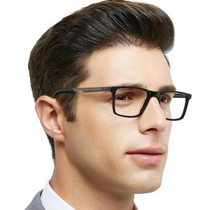 Image 2 - OCCI CHIARI lunettes optiques de haute qualité pour hommes, monture en métal, monture, charnière, en acétate, printemps lunettes pour hommes, W CARA