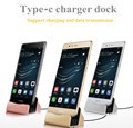 Charger Dock For Huawei p9/lg g5/Nexus 5X / 6P/htc m10/letv/xiaomi Desktop cradle charge stand station with USB Sync Data cable