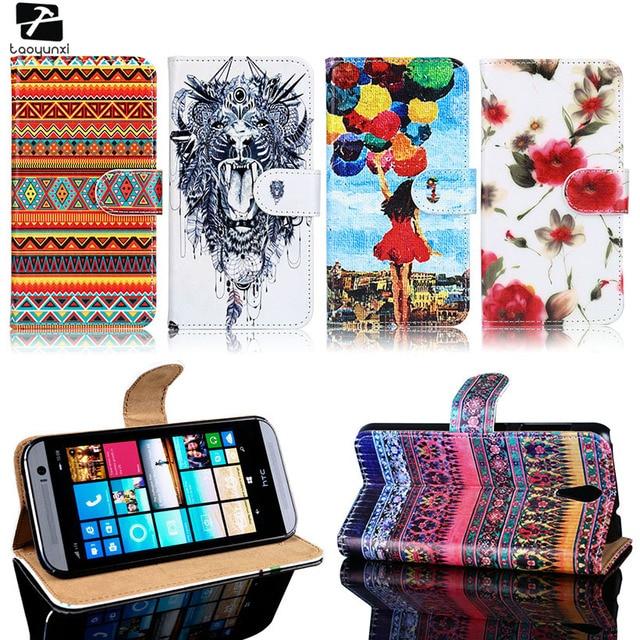 TAOYUNXI PU Leather Case For HTC Desire 620G HTC Desire 820 Mini Housing Cover D820mu Dual Sim 820mini 620 G Wallet Flip Bag