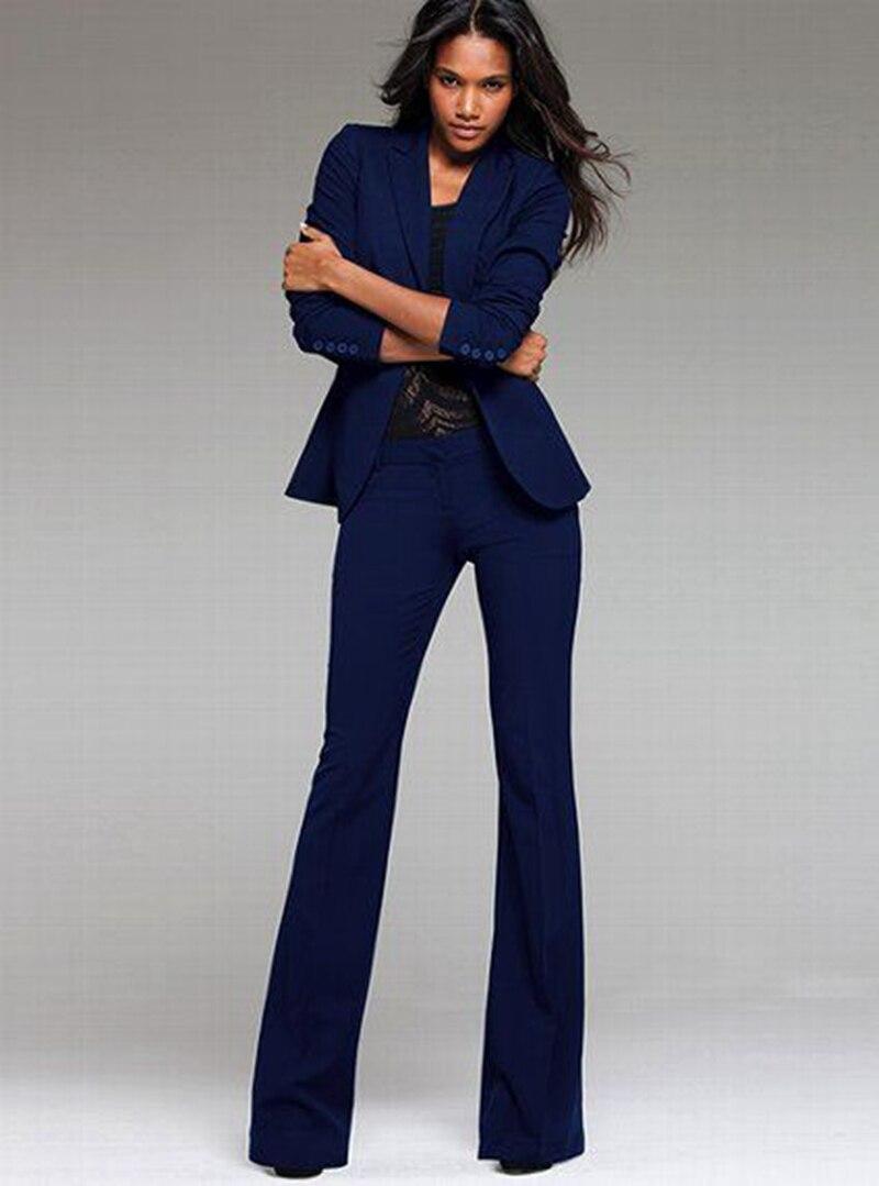 2 Stücke Set Frauen Anzug Formale Büro Damen Uniform Design Stil Hose Anzug Frauen Arbeitskleidung Jacke Mit Hose W14