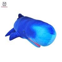BOLAFYNIA Children Plush Stuffed Toy sperm whale marinel Baby Kids Toy for Christmas Birthday gift sea animail plush toy