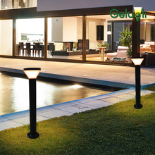 IP65 Concrete Install Aluminum  Outdoor Lighting Garden Plaza Bollard Lawn Light Landscaping 600MM Height