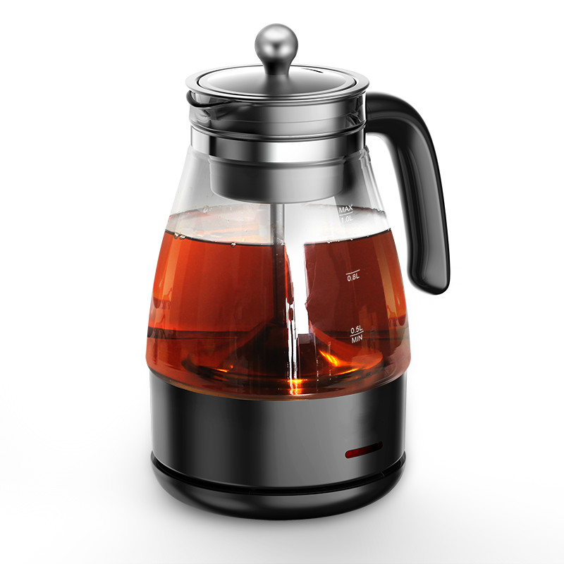 Electric kettle Black tea boiled ware heating full automatic glass teapot steam curing pot of electric cooking curing pot tisanes of the multifunctional automatic thickening glass boiled tea electric cooking pot electric water ket