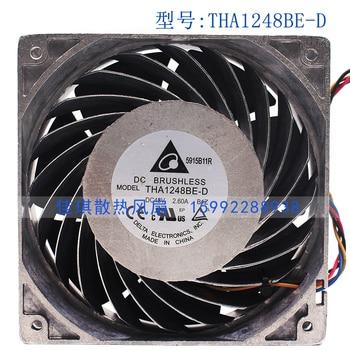 Brand new original THA1248BE-D 12038 48V 2.6A large air volume aluminum frame cooling fan