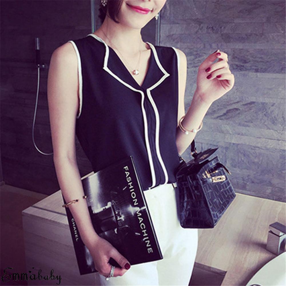 Women Blouses 2019 Fashion Long Sleeve Turn Down Collar Office Shirt Chiffon Blouse Shirt Casual Tops Plus Size Blusas Femininas 11