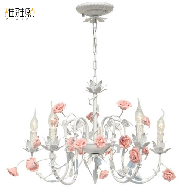 LED 5 bulbs light chandelier rustic lighting lighting led lamps