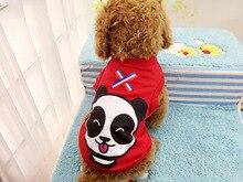 Cute Panda Small Dog Shirts