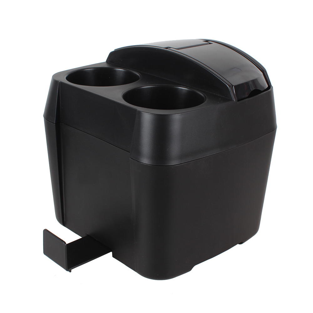 1 PCS Auto Accessories Black Trash Box with Tissue Clip Car Trash Can Trashes Holder trash