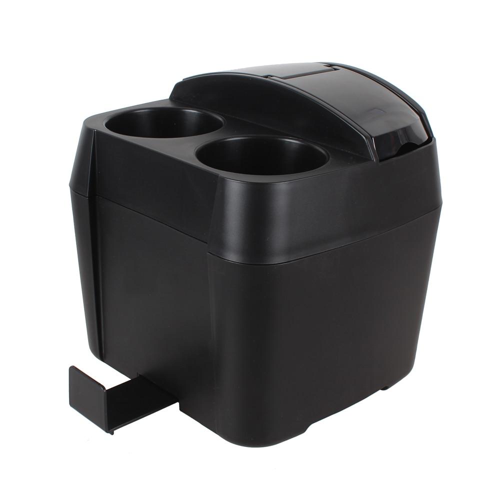 42ad22d6e16 1 PCS Auto Acessórios Preto Titular Caixa com Tecido Clipe de Lixo Carro Do  Lixo Pode Trashes