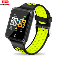 Купить с кэшбэком LIGE 2019 New Smart Watch Men Women Waterproof Smart Bracelet Band blood pressure monitor Heart Rate Fitness Tracker wristband