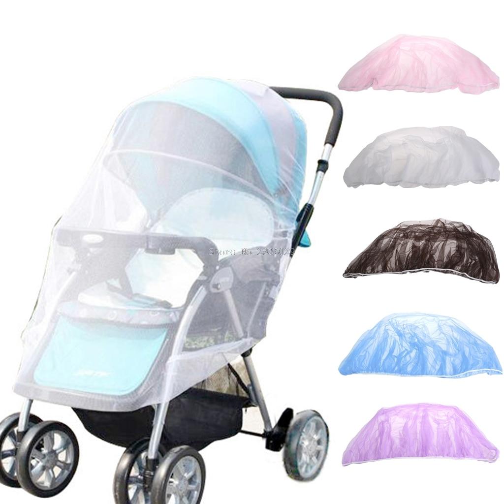 Summer Baby Stroller Pushchair Mosquito Net Netting Cover