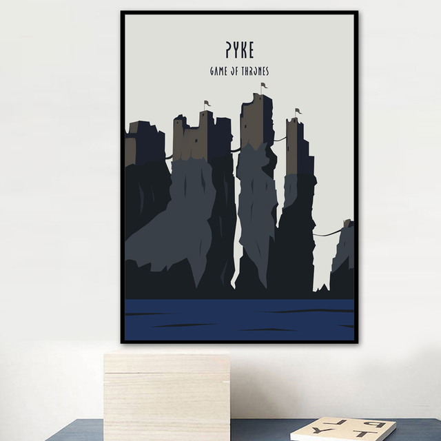 Game Of Thrones Movie Poster Nordic Canvas Art Print Wall Painting Posters And Prints Wall Pictures For Living Room Home Decor 2
