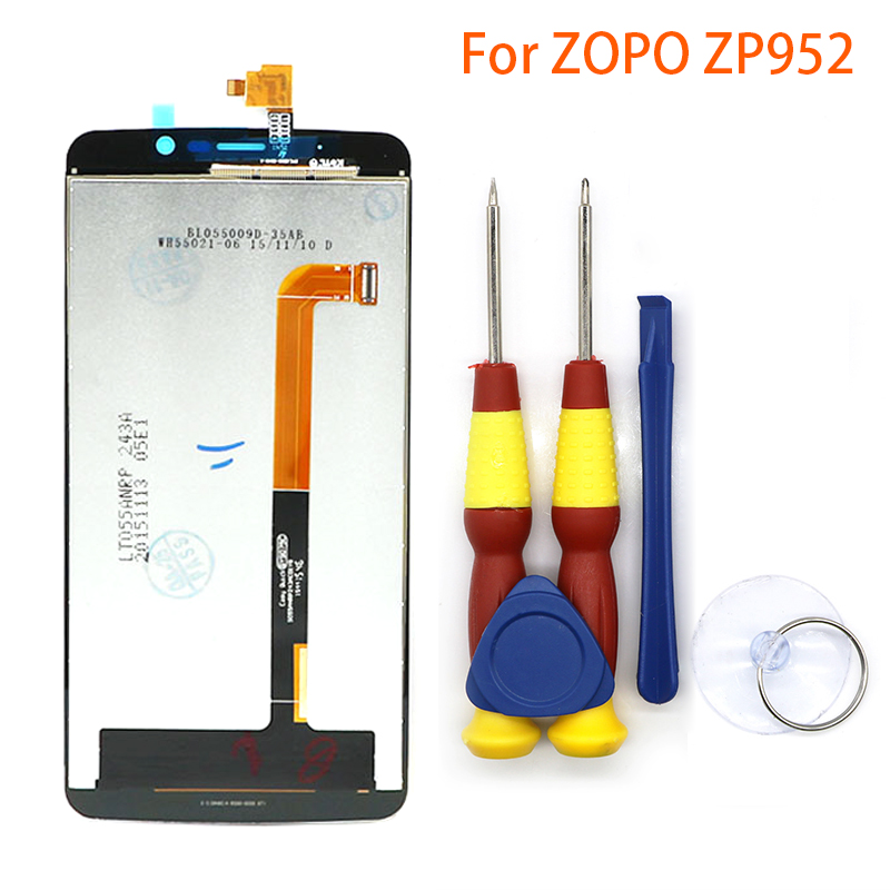 New original For ZOPO ZP952 Speed7plus Speed7 plus Touch screen LCD Display LCD screen Disassemble Tool + 3M AdhesiveNew original For ZOPO ZP952 Speed7plus Speed7 plus Touch screen LCD Display LCD screen Disassemble Tool + 3M Adhesive