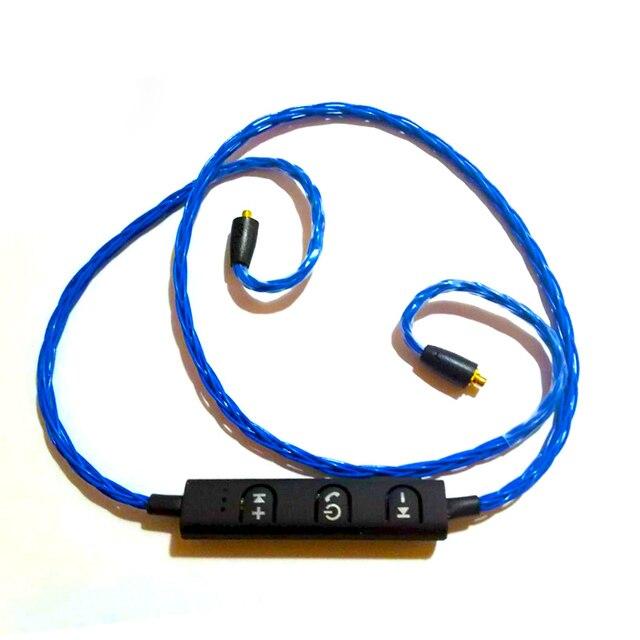 7 PIZEN BT89 5N Furukawa 8 Cores bluetooth wireless MMCX cable for shure se535 SE215 SE846 / IE8 ie80/ senfer earphone headset