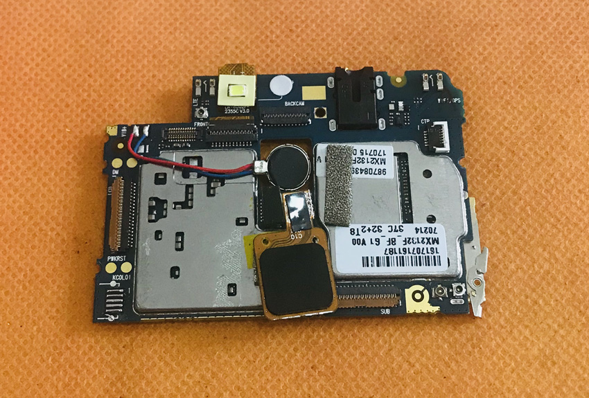 Used Original mainboard 3G RAM+32G ROM Motherboard for Elephone C1 Max Free Shipping