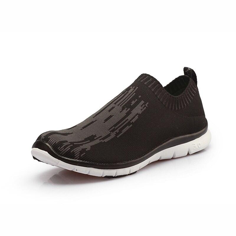 2017 Mens Casual Shoes,Men Summer Autumn Mesh Flats For Men Loafers Creepers Casual Shoes Flats Very comfortable Sock Shoes