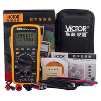 VICTOR Victory Multimeter VC86E 4 1 2 Digit Precision Multimeter Frequency Capacitance Temperature With USB