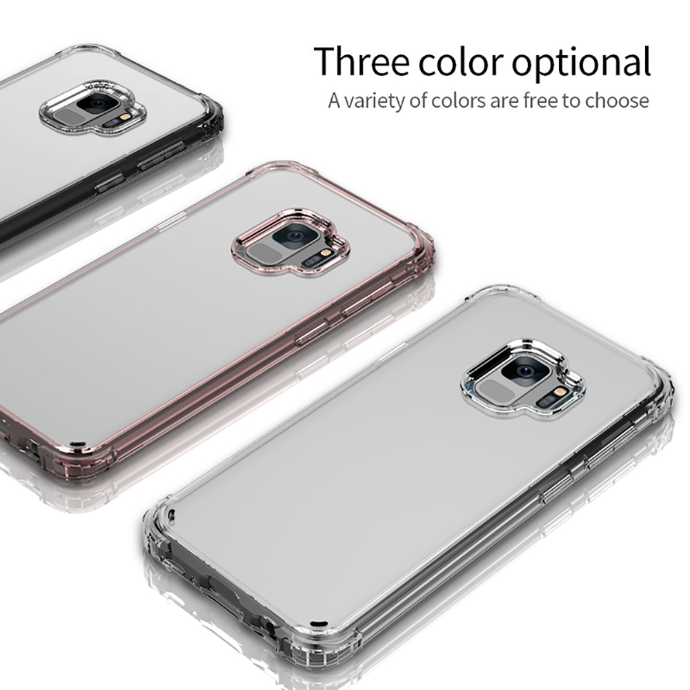 Aerdu Transparent Phone Cases For Samsung S9 Case For Samsung S9 plus Case Soft Cover For Samsung Galaxy S9 Plus Cases wholesale in Half wrapped Cases from Cellphones Telecommunications