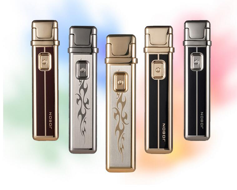 ng square pulse arc usb rechargeable lighter Creative personality gift windproof lighters free shipping