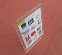 (GT3163 16inch) New Acrylic Certificate Frame Hot Selling Business Licence Display Frame Plexiglass Photo Showing Stand