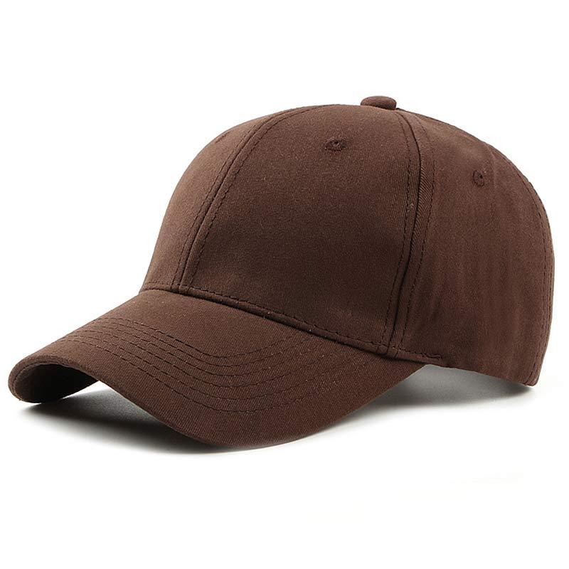 Unisex Cotton Baseball Cap Classic Plain Cap Low Profile Outdoor Sport Sun Hat