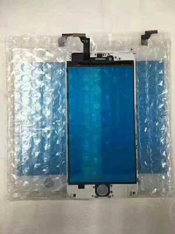 החלפת חזית זכוכית עדשת מגע מסך Digitizer עם מסגרת עבור iPhone 5 5S 5c 6 בתוספת 6S זכוכית פנל חיישן