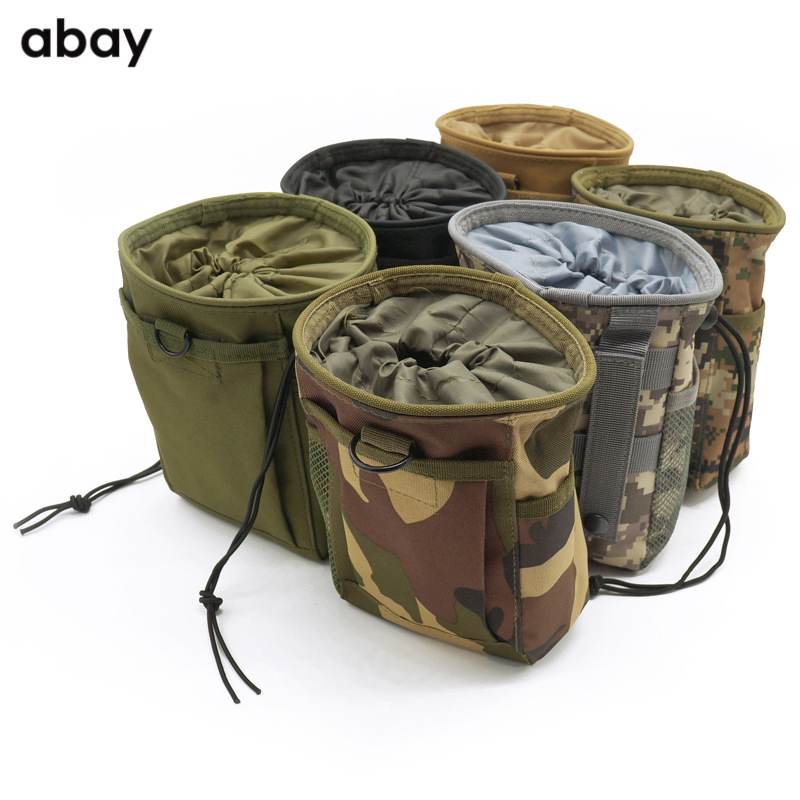 Outdoor tactical pockets Outdoor sports pockets Mountaineering camping tactical bags Small recycling bags