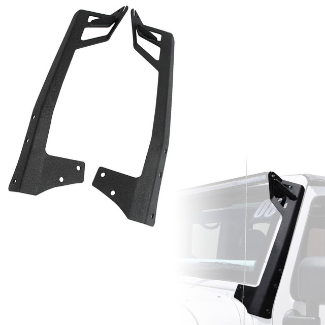 50 straight light bar brackets seamless mount kit for jeep 50 straight light bar brackets seamless mount kit for jeep wrangler jk jku 2007 mozeypictures Gallery