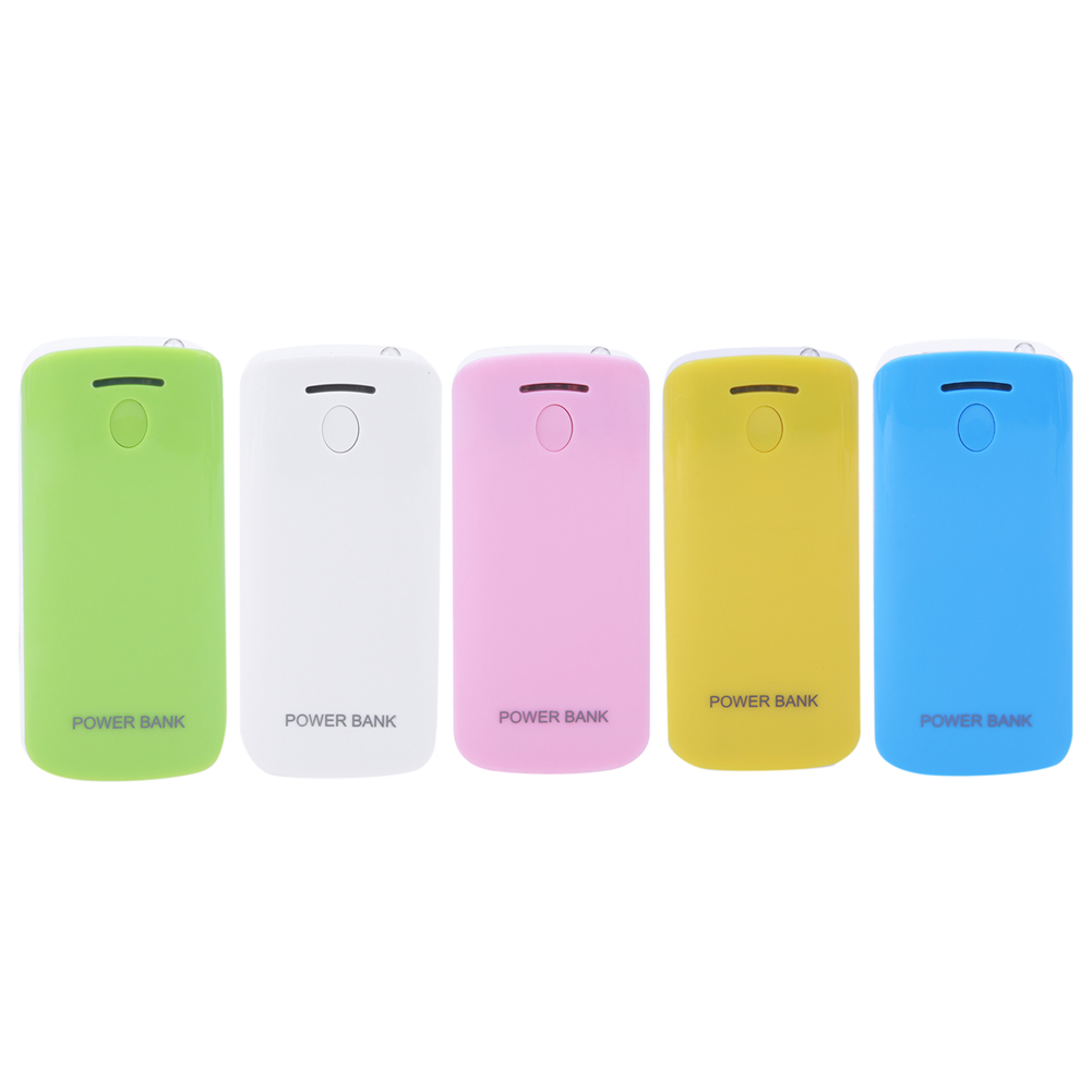 5 colors Mini Power Bank Case For 2pcs <font><b>18650</b></font> <font><b>Batteries</b></font> Power Supply Power Bank Case DIY <font><b>Box</b></font> Charging <font><b>battery</b></font> <font><b>storage</b></font> <font><b>box</b></font>