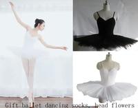 Professional Ballet Adult Tutu Dress Custom Made Size Ballet Performance Wear Little Swanballet Leotards For Women
