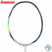 Genuine 2019 New Kawasaki Special Carbon Fiber Passion P5 Magic 2 IN 1 Frame Honor S6 Badminton Racket With Gift(China)