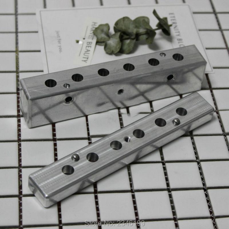 1 Set 9mm Intérieure Tasse Bâton Rouge Moule, DIY Rouge À Lèvres En Aluminium De Remplissage De Moule, haute Qualité En Aluminium Moule Baume pour les lèvres