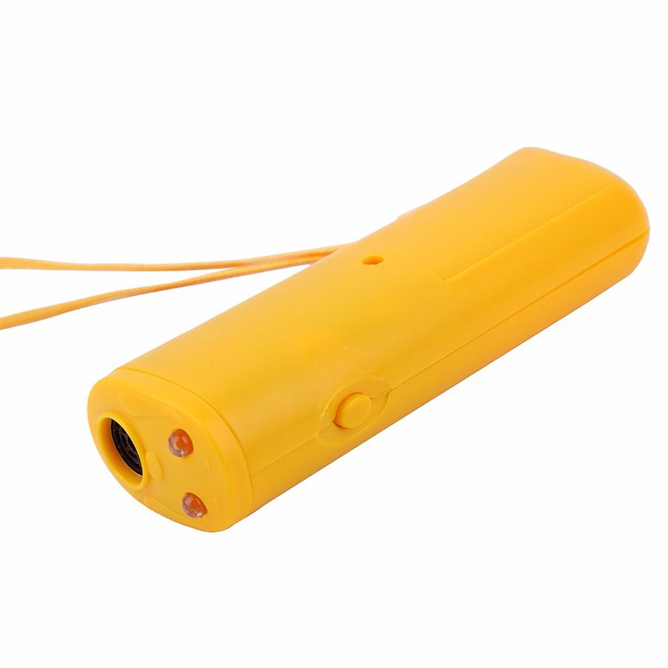 Aparato de entrenamiento LED ultrasónico 3 en 1 Anti ladrido ultrasónico 2