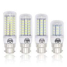 Лампада b22 Светодиодные лампы 240 В 220 В 7 Вт 12 Вт 15 Вт 20 Вт светильник 72x5730 SMD 30 Вт Холодный теплый белый Светодиодный точечный светильник