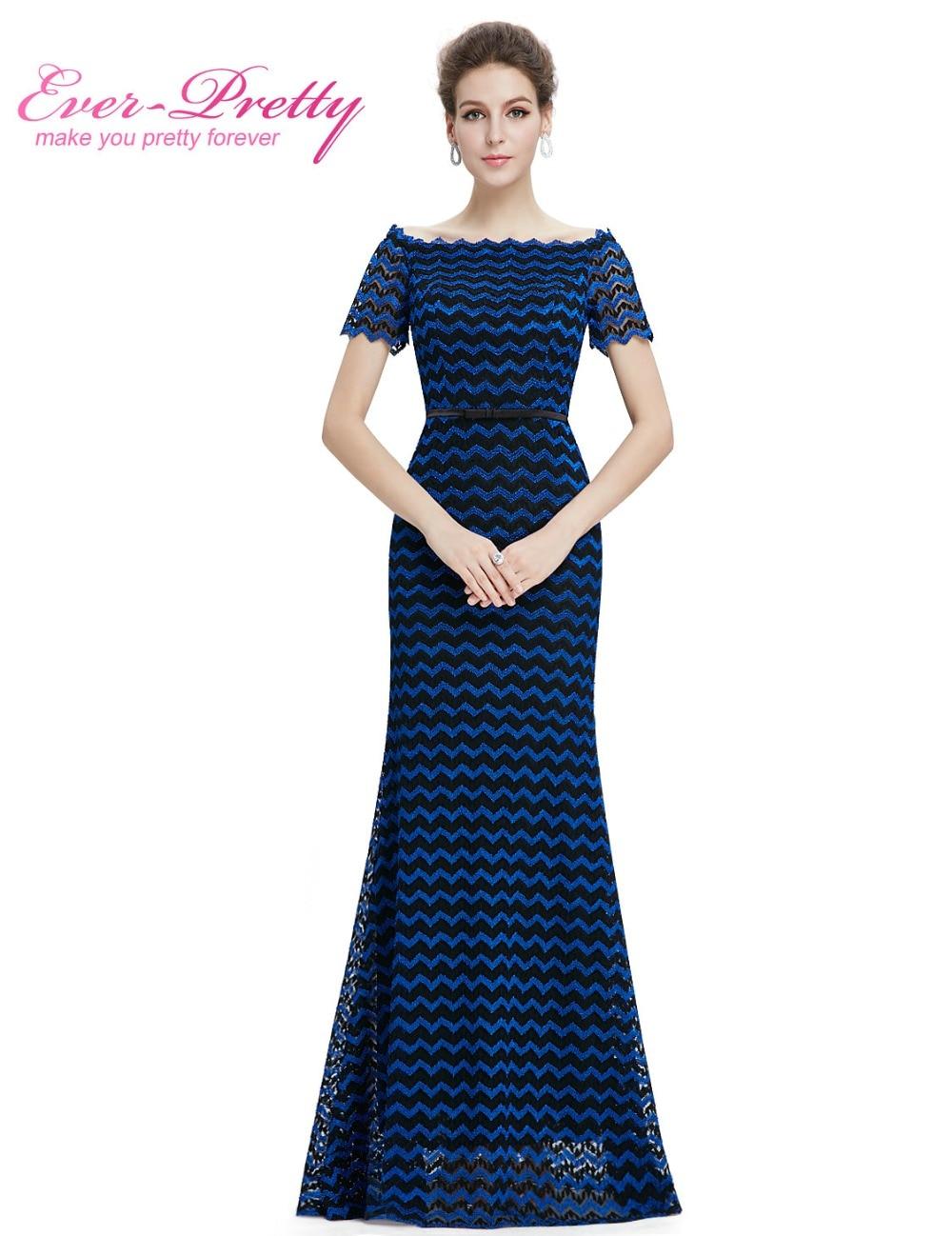 Lengan pendek elegan wanita cantik-cantik EP08799BB unik reka bentuk v-leher ibu parti gaun pengantin 2018 pakaian majlis