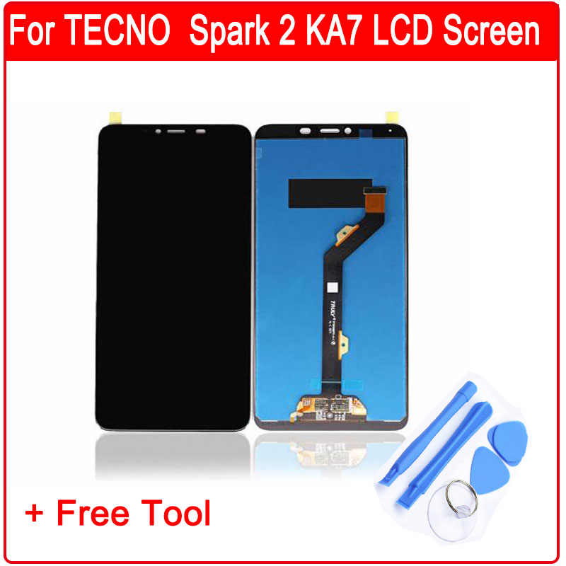 For Tecno W4 Full LCD Display + Touch Screen Digitizer Assembly