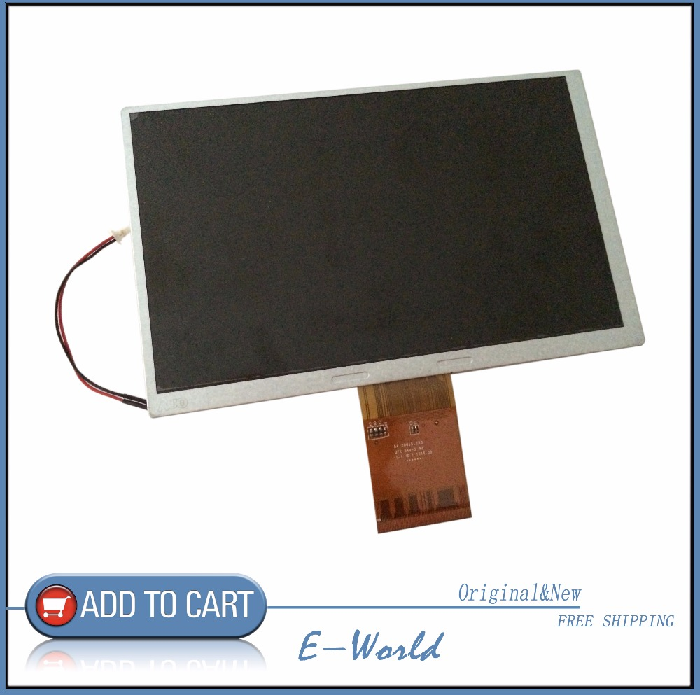 Original And New 7inch LCD Screen A070VW08 V.0 A070VW08 V0 V2 For Car DVD Free Shipping