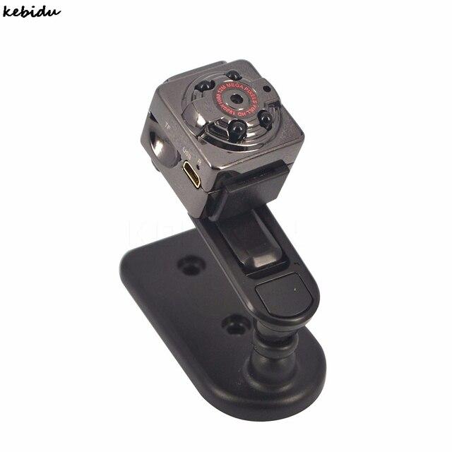 kebidu 1080P Mini Camera Recorder SQ8 SQ9 720P Camcorder Audio Video Camcorder Infrared Night Vision HD Micro T