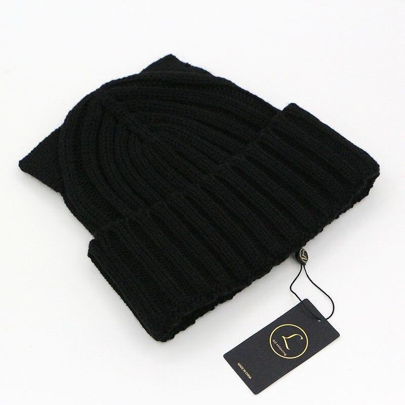 2016 amerikanische Modemarke Wolle Häkeln Beanie Strickmütze Hut - Bekleidungszubehör - Foto 6