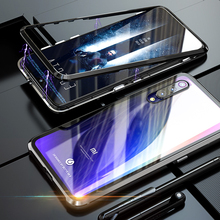 Magnetic Metal Glass Cases For Xiaomi Mi 9 SE 9SE Mi9 Mi9SE