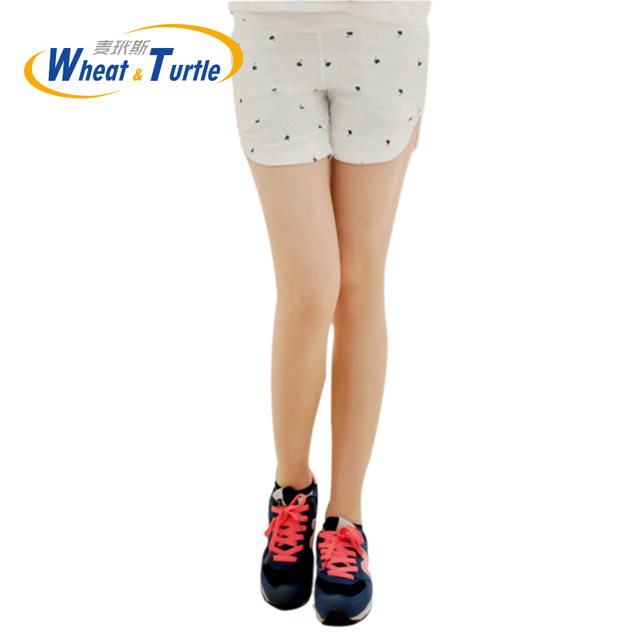 Hot Sale 2016 New Arrival Summer Maternity Short Pants  Cotton Casual Short Hot Pants For Pregnant Women Pocket Two Side Open