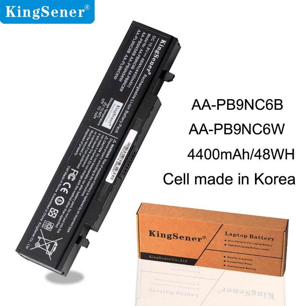 KingSener AA-PB9NC6W batterie d'ordinateur portable pour Samsung RV509 RV511 RV513 NP355V4C NP350V5C NP350E5C NP300V5A NP350E7C NP355E7 NP355V5C