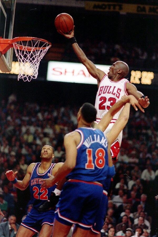 DIY marco baloncesto MVP Michael Jordan Flying disparar una cesta ...